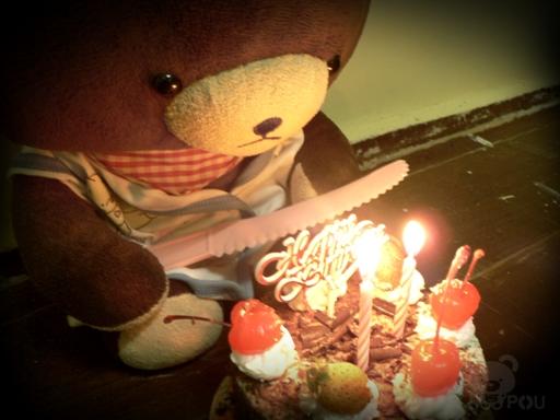 阿宝的二岁生日