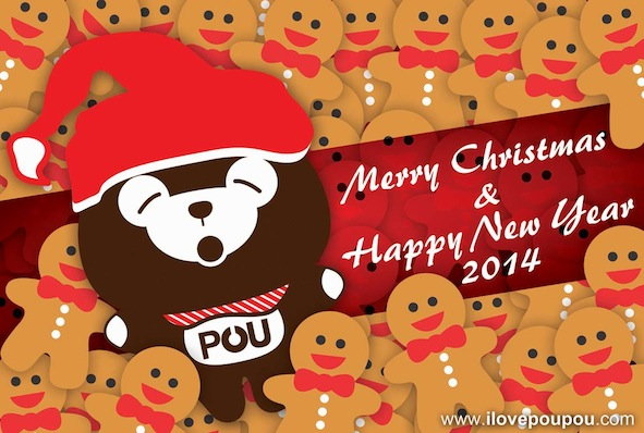 PouPou Chrismas&New Year 2014