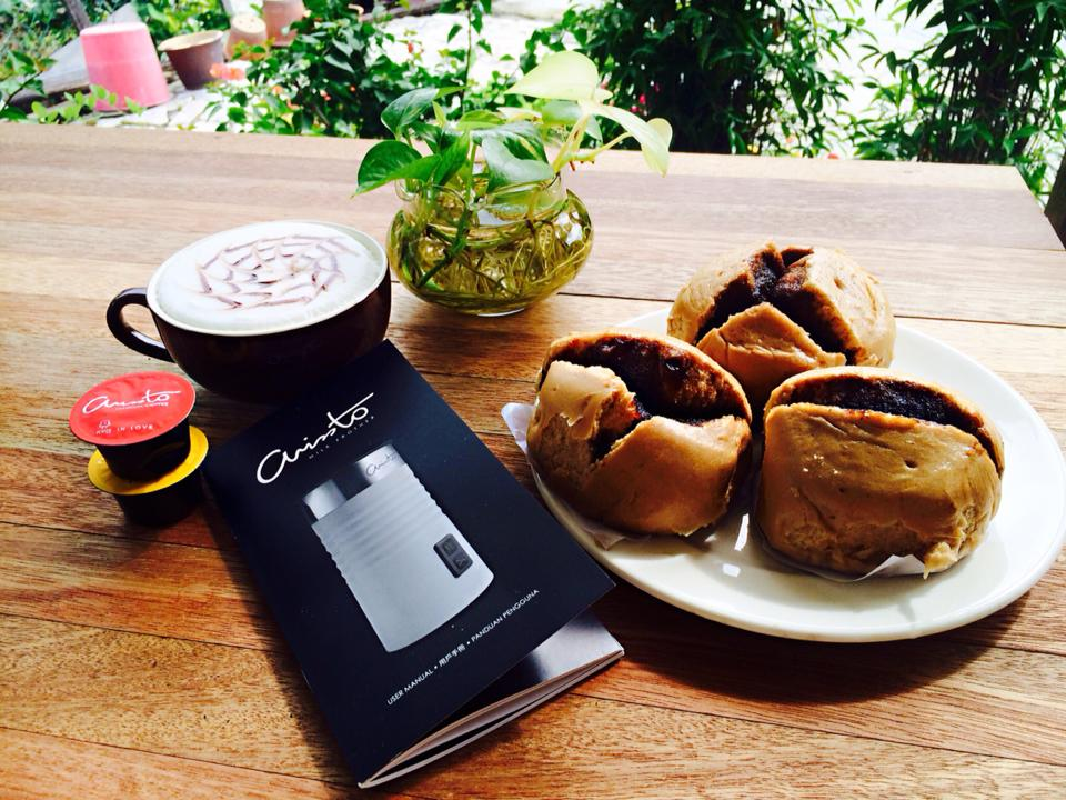 我的幸福早餐:Balik Pulau 驰名的黑糖包