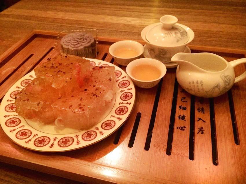 紫藤月饼,乐台居Kopitiam: 温馨庆中秋