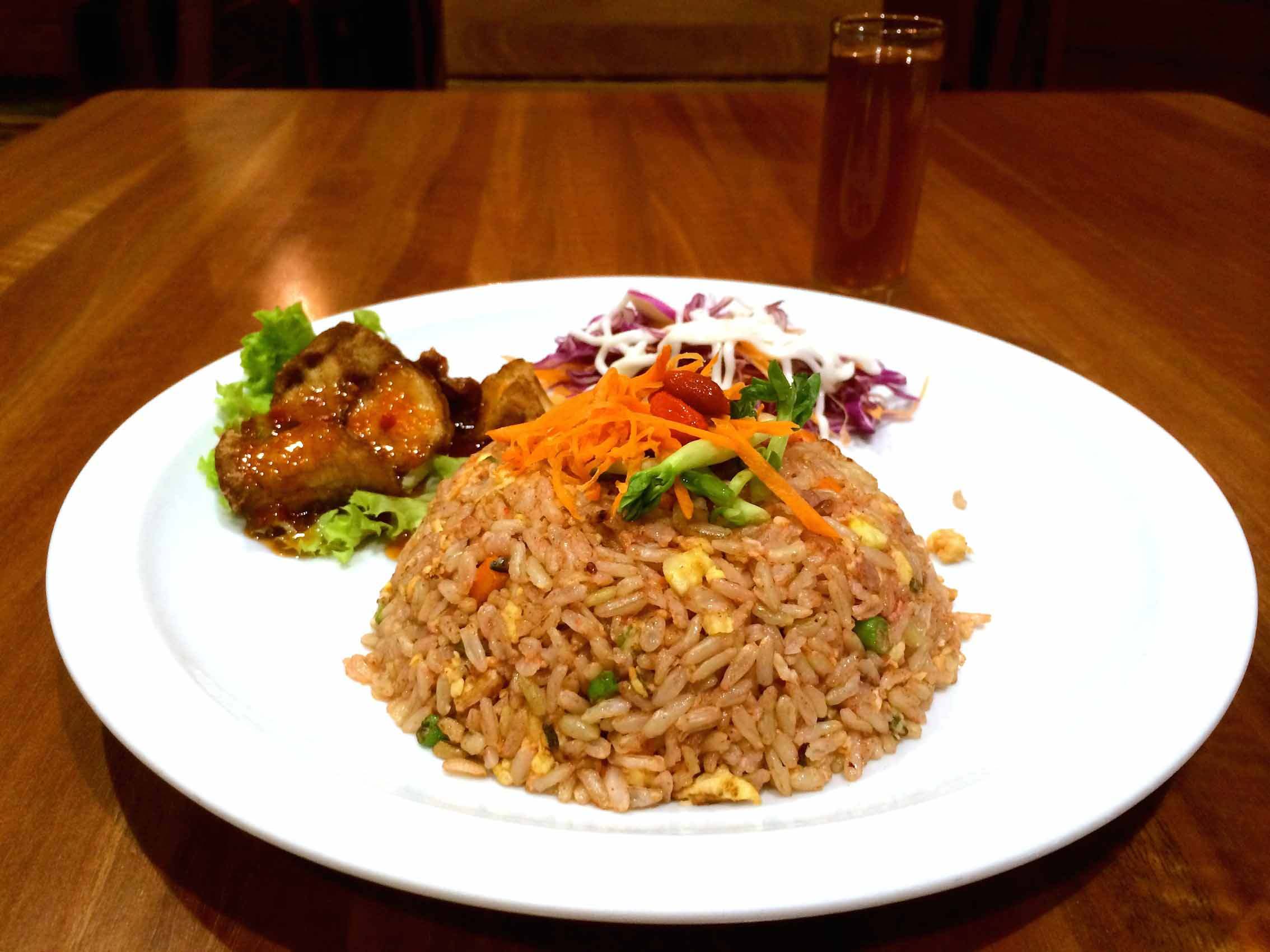 Journey2Life 旅人蔬食。人文空间:红糟炒饭  Fried Rice