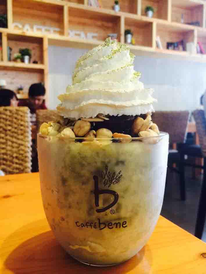 Caffe Bene: 绿茶口味的Bingsu
