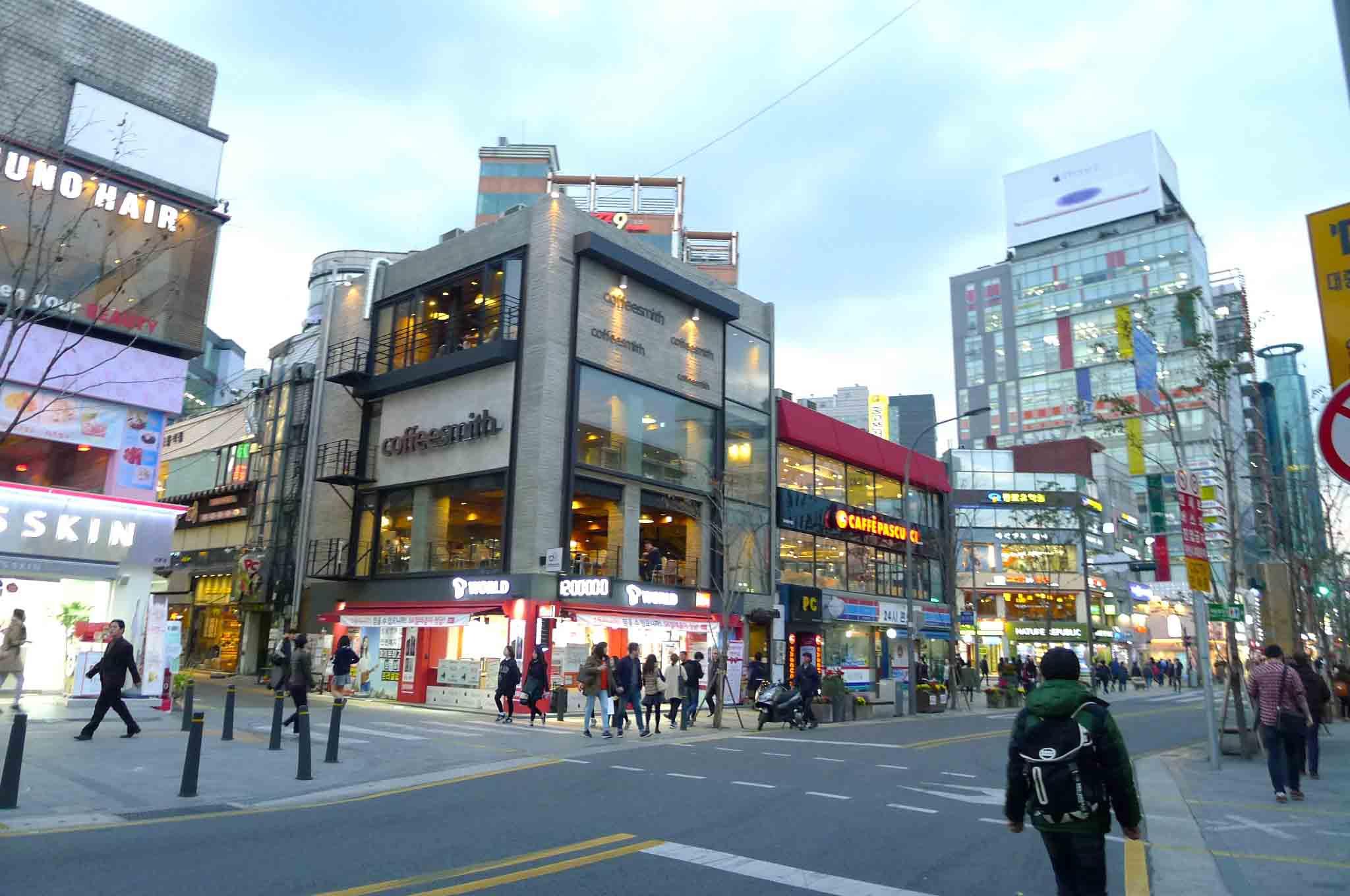 (Seoul) 首尔的秋天~枫红的季节