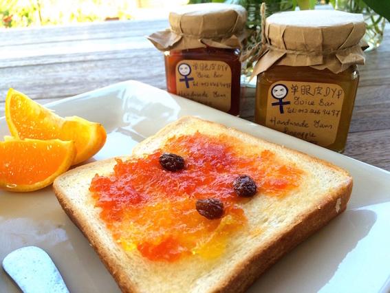 甜蜜指数爆灯,像果酱般的心情: 来自单眼皮Juice Bar的天然手工果酱, 烤面包配牛油和果酱
