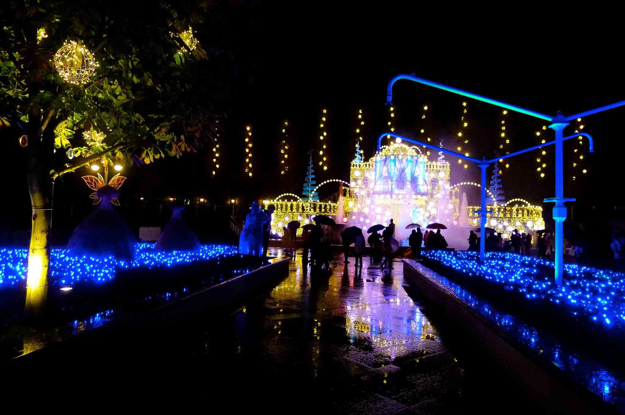 首尔的秋天之爱宝乐园(Everland):浪漫飞舞