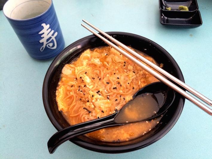 寿司厨房Sushi Kitchen :开心辣辣面, 素食,Vegetarian, Vegan, 健康餐