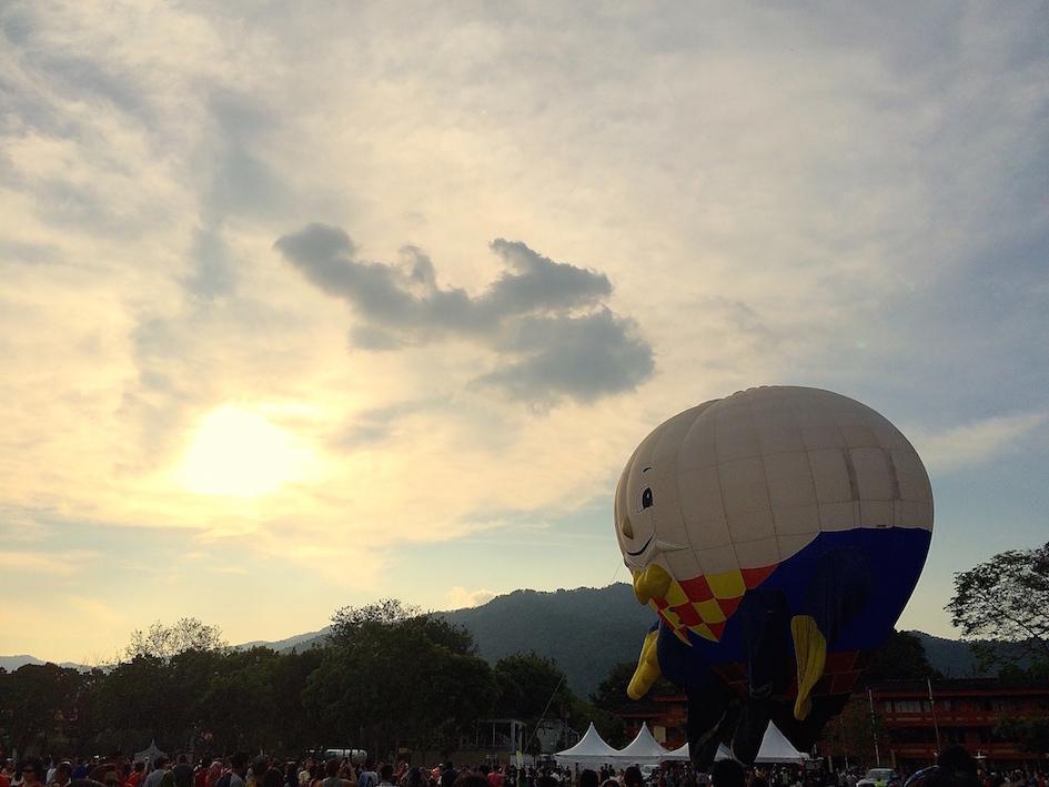 年初三 ~ 十分幸福,梦想起飞, 槟城热汽球嘉年华会,Penang Hot Air Ballon, Chasing Tomorrow Sunrise