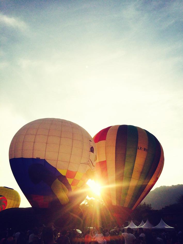 年初三 ~ 十分幸福,梦想起飞, 槟城热汽球嘉年华会,Penang Hot Air Ballon