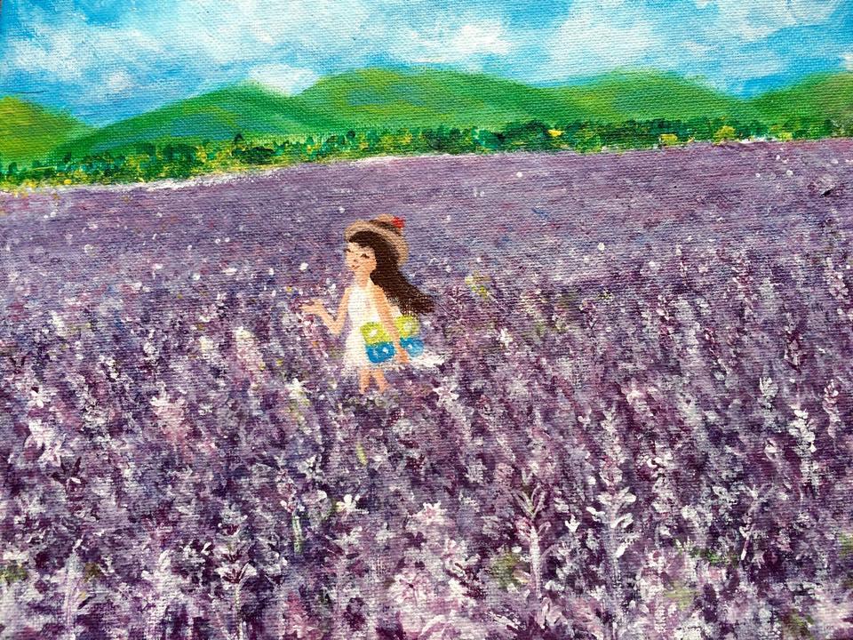 薰衣草花语: 只要用力呼吸,就会看见奇迹 Lavender