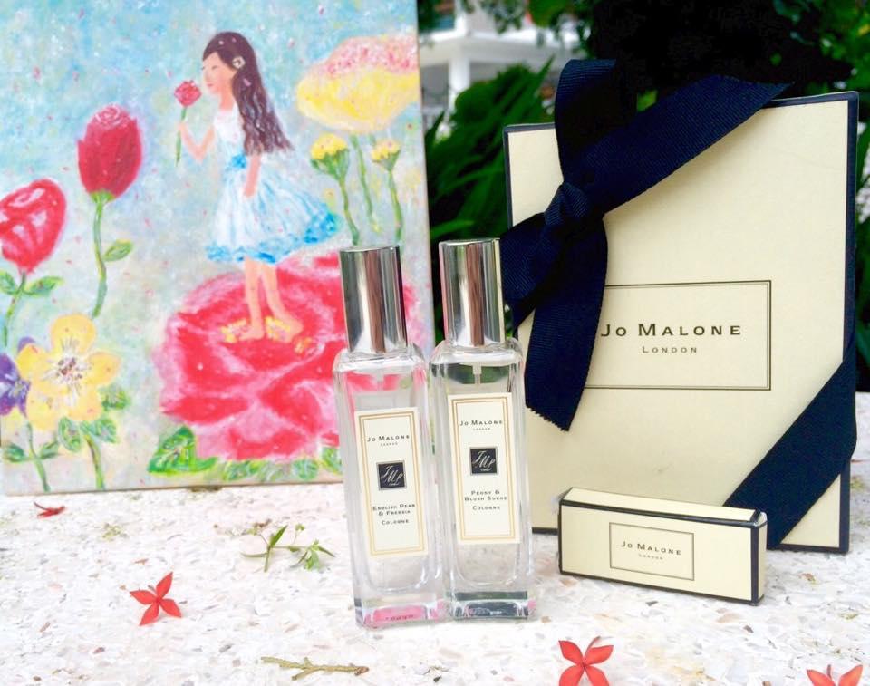 爱上Jo MALONE香气:女人,努力的绽放吧!
