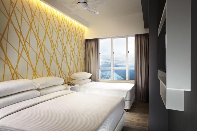 马来西亚云顶世界网上订购优惠配套: First World Hotel Annex Tower XYZ Tripple Deluxe Room