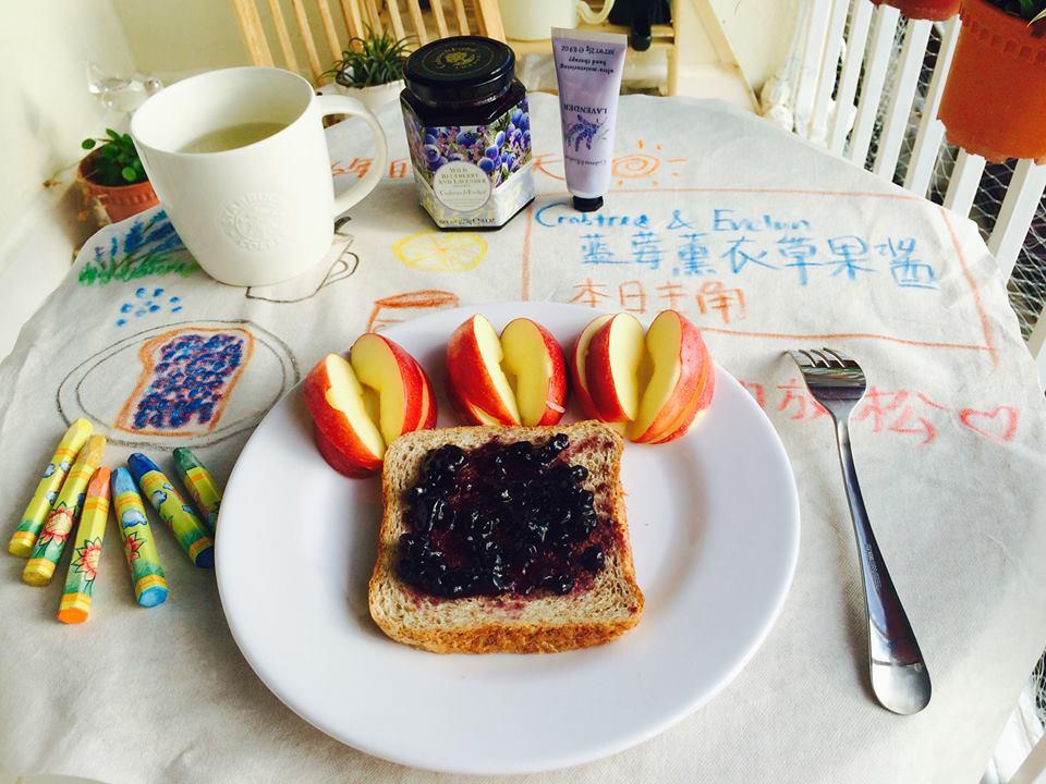 [手作小日子] Crabtree & Evelyn 薰衣草藍莓果醬:甜美的芬芳