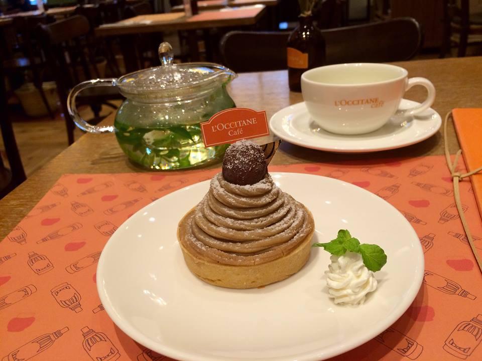我在寶島的感性路線:在夢想國度L'occitane Cafe喝下午茶