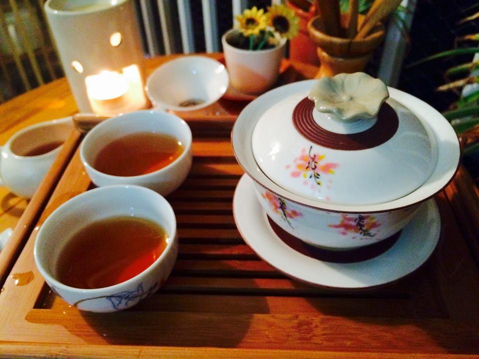 普洱菊花就是我和爸爸的一杯茶