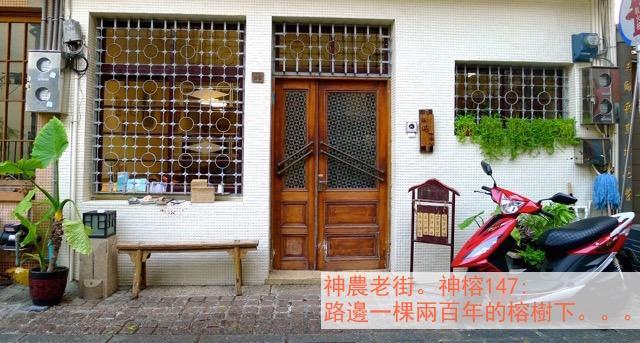 神農老街。神榕147: 路邊一棵兩百年的榕樹下