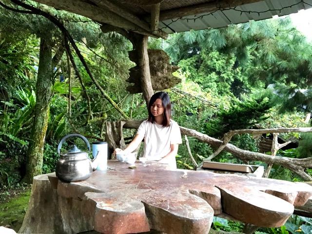 嘉義梅山鄉瑞峰村賴坤陽的家木屋民宿:山居茶歲月,漫山飛舞的日子