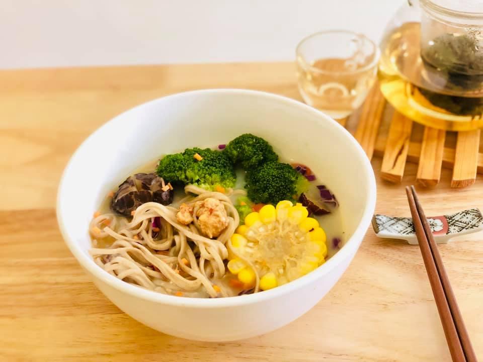 簡悦食養:味噌豆漿黃金蕎麥麵,愛自己是終身浪漫的開始